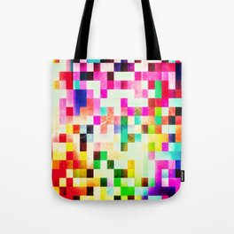 GROWN UP PIXELS Tote Bag