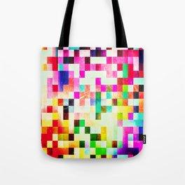 GROWN UP PIXELS Tote Bag