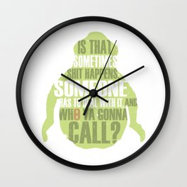 Who ya gonna call? Ghostbusters Tribute Wall Clock