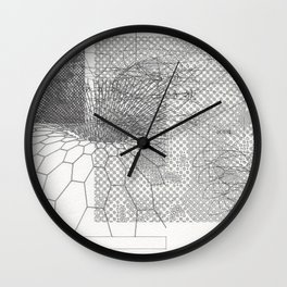 Horse Worm Hole: The Fantastic Kiss Wall Clock