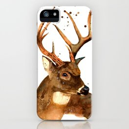Beautiful Blitzen iPhone Case