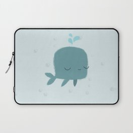 happy whale Laptop Sleeve