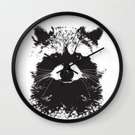 Trash Panda Wall Clock