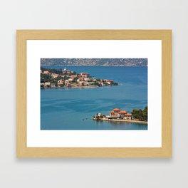 Boka Kotorska Framed Art Print
