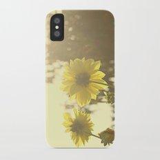 Yellow Sunshine Slim Case iPhone X