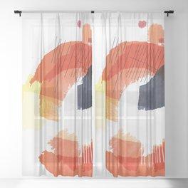 Nucleus Series – 1 of 3 Sheer Curtain