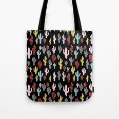 Colorful Cactus Tote Bag
