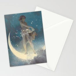 Spring Scattering Stars by Edwin Blashfield Stationery Cards