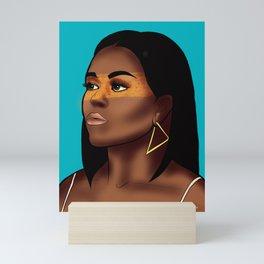 Michelle Obama Mini Art Print