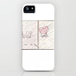 wild hearts can be broken iPhone Case