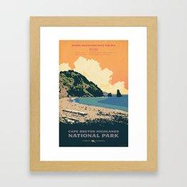 Cape Breton Highlands National Park Framed Art Print