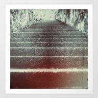 Climb to the Unknown Art Print