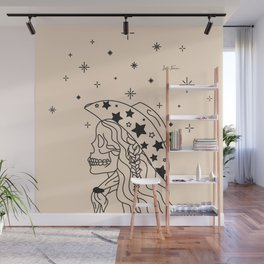 Love or Die Tryin' - Rhinestone Cowgirl Black & Cream Wall Mural