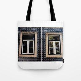 Lisbon Windows Tote Bag