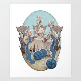 Fate's String Art Print
