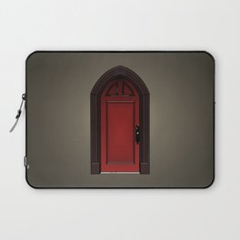 Red door in The Haunting of House Laptop Sleeve