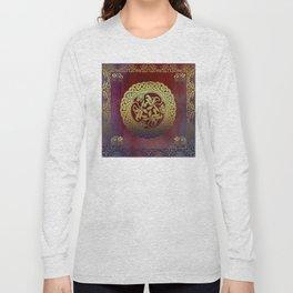 Oriental Motif Long Sleeve T-shirt