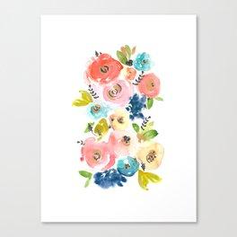 Floral POP #2 Canvas Print