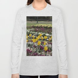Tulips in the park Long Sleeve T-shirt