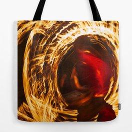 Fire Dancer 1 Tote Bag
