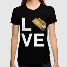 Funny I love tacos shirt, Fitness & Gym Food, Cool Cinco de Mayo Gift T-shirt
