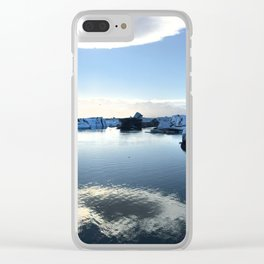 Icebergs Clear iPhone Case