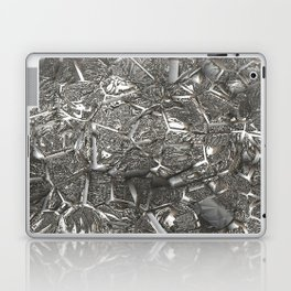 MetalArt  16 silver Laptop & iPad Skin