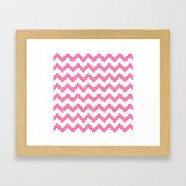 Waves of love Framed Art Print