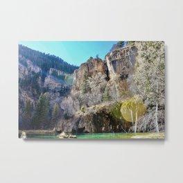 Hanging Lake II Metal Print
