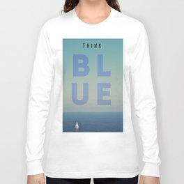 THINK BLUE Long Sleeve T-shirt