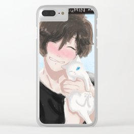 Mystic Messenger - Cutie Jumin (Snapchat series) Clear iPhone Case