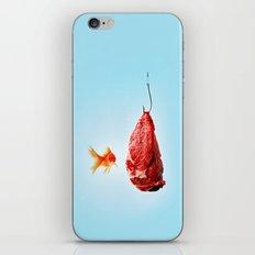 Hungry Goldfish iPhone Skin