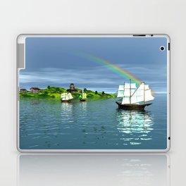 Reise zur Insel Laptop & iPad Skin