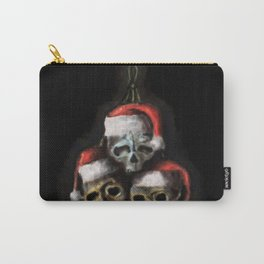 Macabre Christmas Carry-All Pouch