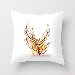 Sequoia tree branches Throw Pillow