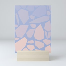 Pink gems Mini Art Print