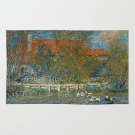 The Duck Pond Rug