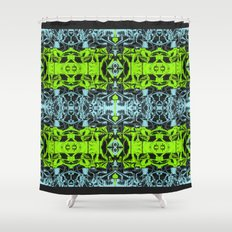 Style Mesh Shower Curtain