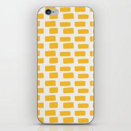 Shapes Nr.3 - Yellow Brick Road iPhone Skin