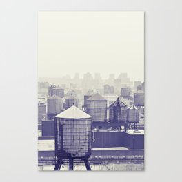 foggy memories of nyc... Canvas Print
