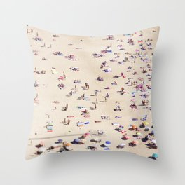 Beach Love VI Throw Pillow