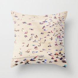 Beach Love VI Throw Pillow