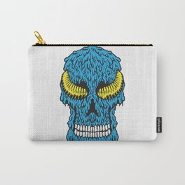 Skull of Yellow Horn Carry-All Pouch
