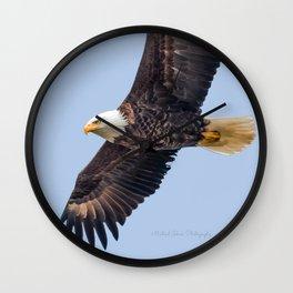 May Soaring Eagle Wall Clock