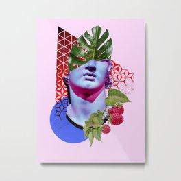 Vaporwave 1/3 Metal Print