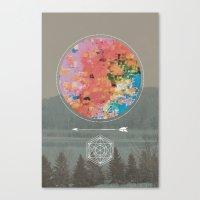 fault Canvas Prints featuring Fault by RJ Creative
