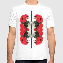 Summer Red Skulls 2012 T-shirt