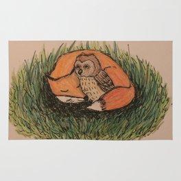 Fox & Owl Rug