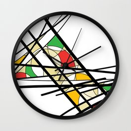 Urban Abstract II Wall Clock