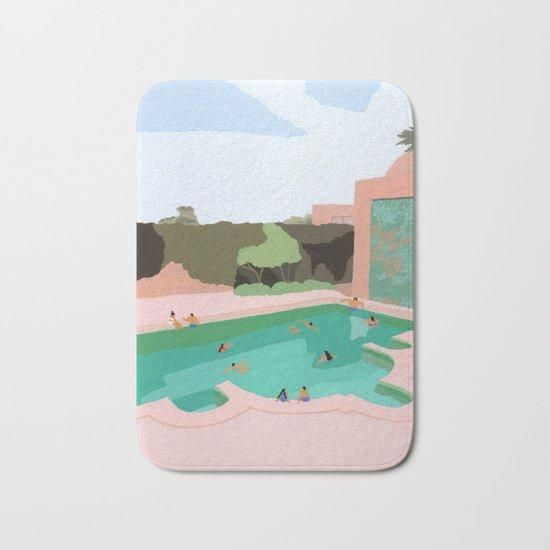 Backyard dip Bath Mat